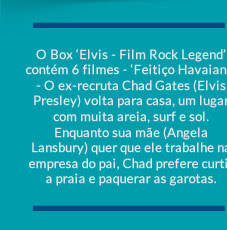 ELVIS - FILM ROCK LEGEND (6 DVDS)