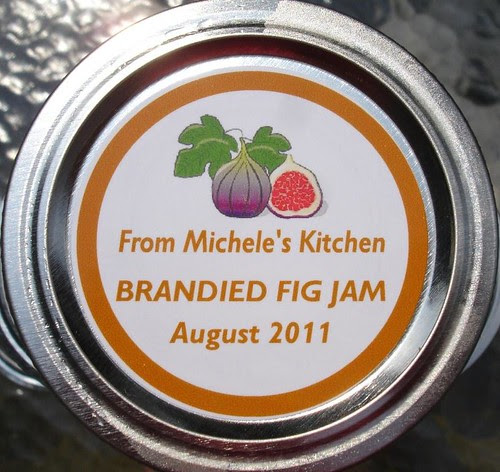 Brandied Fig Jam Label