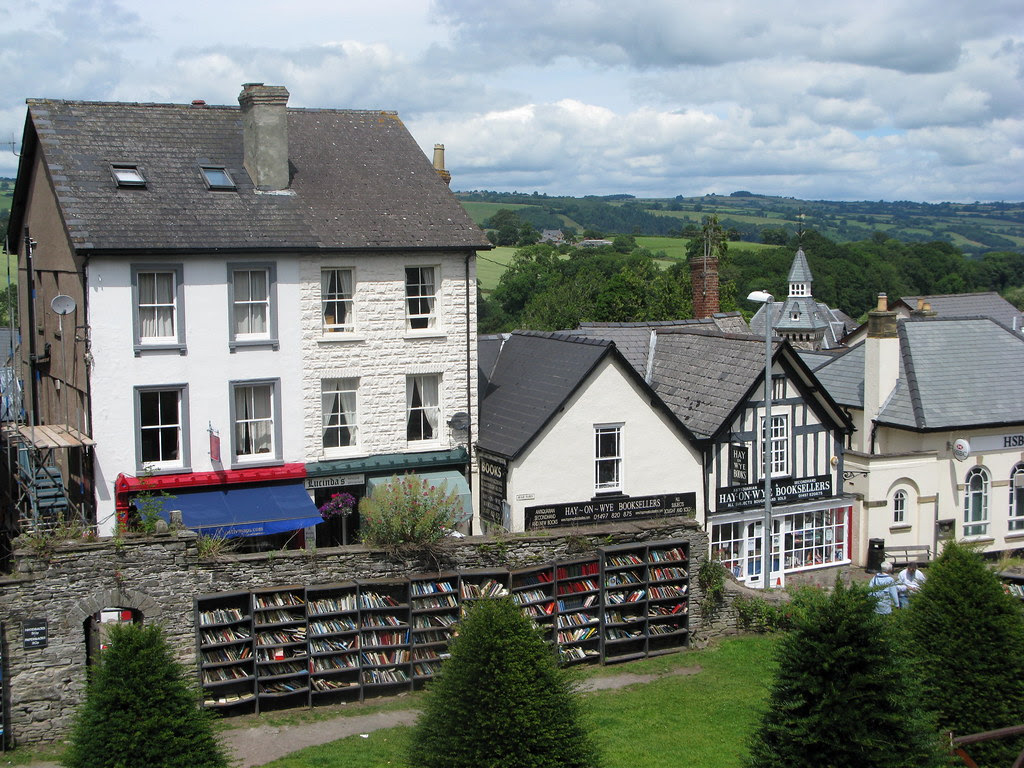 hay-on-wye (of course!)