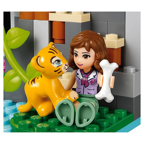 LEGO Friends Jungle Falls Rescue #41033 Tiger cub & Olivia