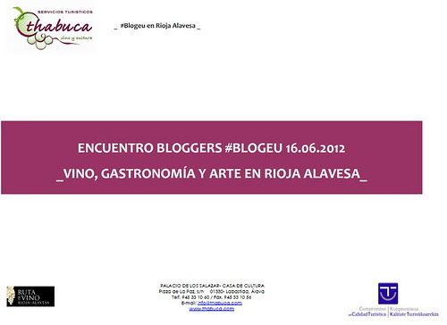 I Excursión de Blogeu a la Rioja Alavesa1