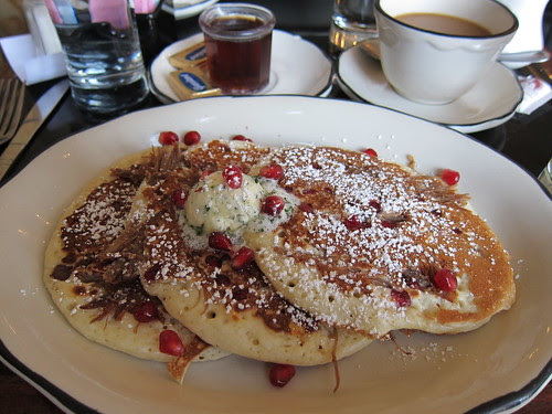 #38 - Duck Confit & Pomegranate Pancakes