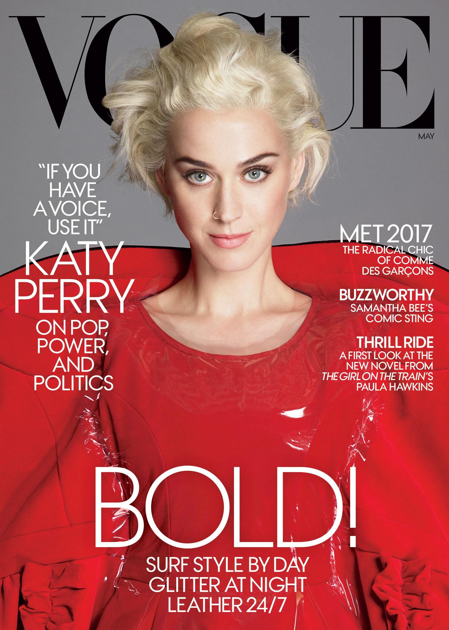 Картинки по запросу Katy Perry Covers Vogue May 2017