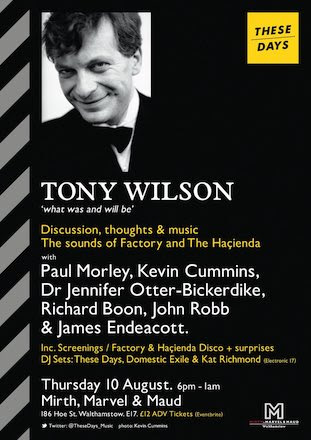 Tony Wilson - What was and will be