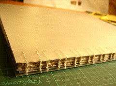 coptic binding, final view