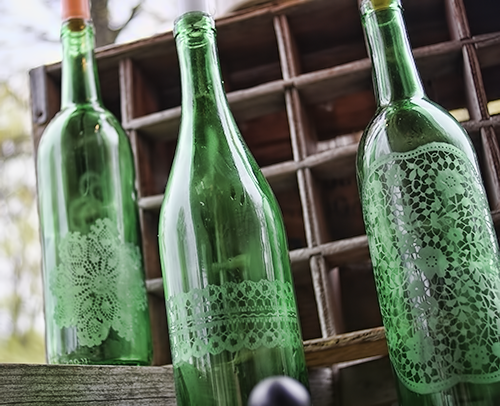 How to upcycle wine bottles