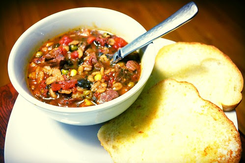 Vegetable Beef Barley Stew