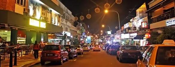 Bangsar by night: Op-Op-Oppa Bangsar- style