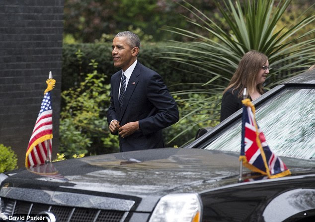 President Obama broke convention by wading into the EU referendum debate during his trip