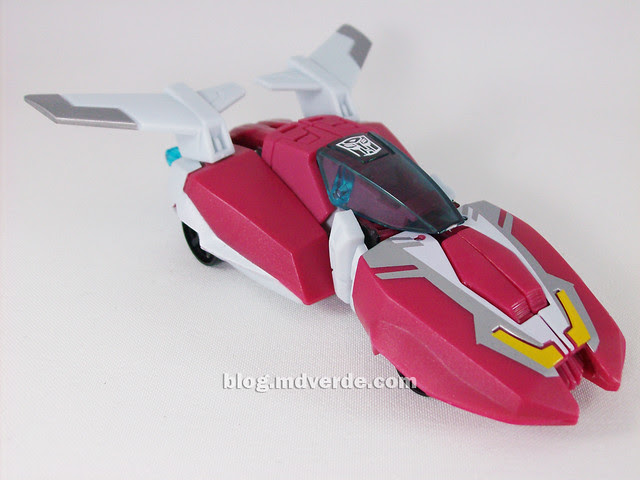 Transformers Arcee Animated Deluxe - modo alterno