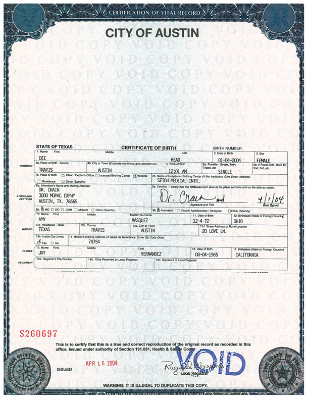 Form new request form for birth certificate birth certificate for form request austintexas health services human birth the certificates yelopaper Gallery