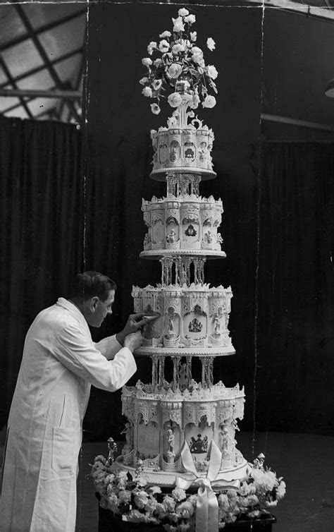 Slice of Queen's wedding cake sells for just £560 at