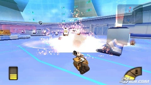 WALL-E (PSP) Screenshot