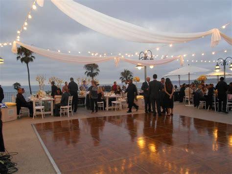 Ocean View   Dance floor   La Jolla Cove Suites Weddings