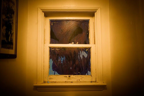 She came in through the Bathroom Window
