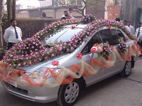 Latest Fashions Updated: marriage decoration car