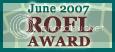 June 07 ROFL award