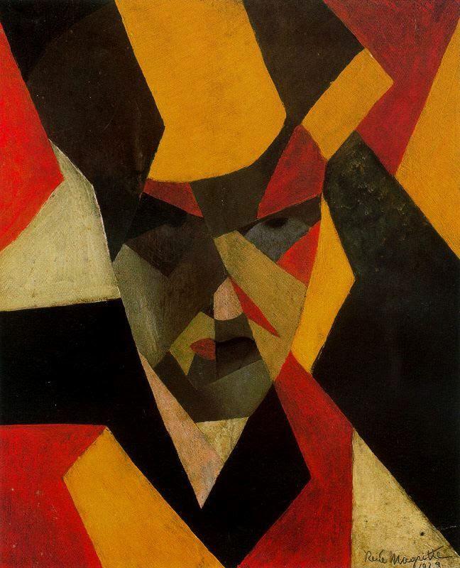 Self Portrait, 1923Rene Magritte