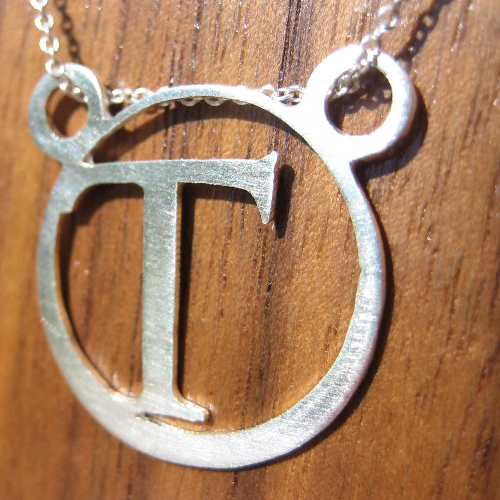 Initials Collection- T Pendant
