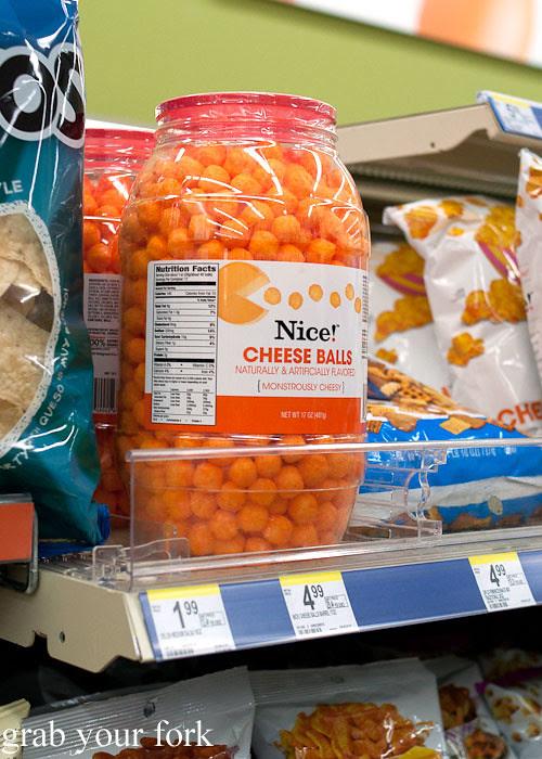 giant cheeseball bucket in los angeles american junkfood