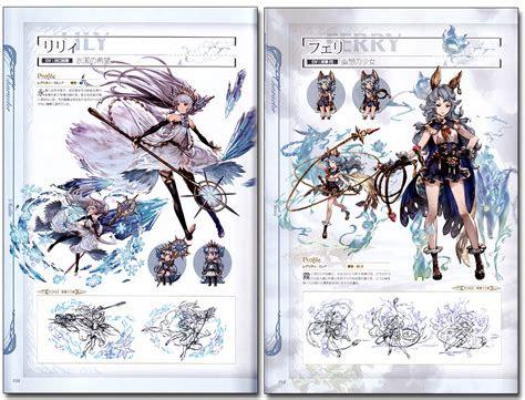 granblue fantasy graphic archive vol  official art book