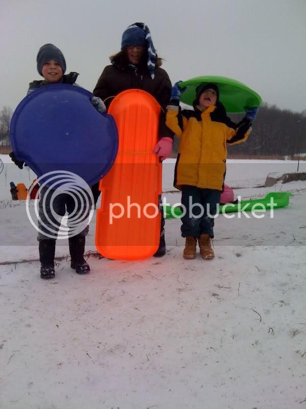 sled trio