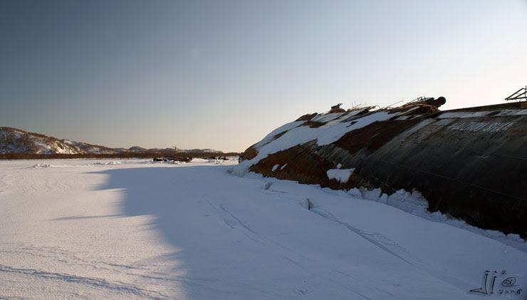 abandoned ships in  kamchatka, Russia 11