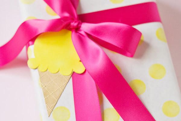 19. Этикетки для подарков в виде мороженого дети, поделки, своими руками, сделай сам, творчество
