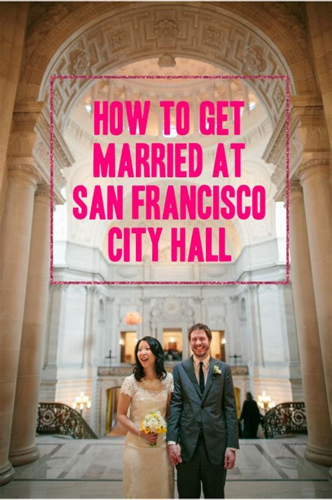 San Francisco City Hall Weddings: Everything You Need To Know