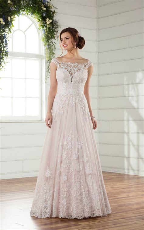 Essense D2327 Lace & Tulle Lustre Satin Wedding Dress sale