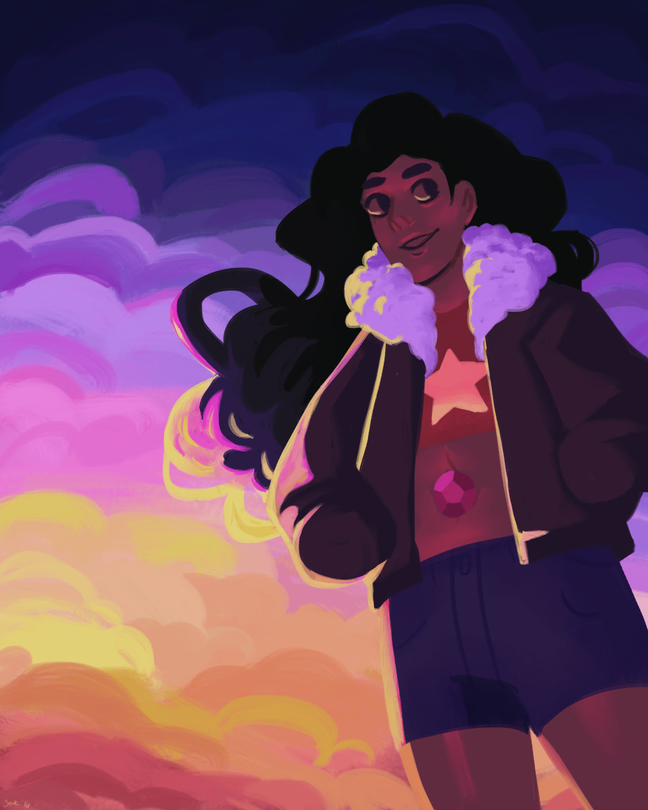 loved loved loved stevonnie in beach city drift!! available on redbubble
