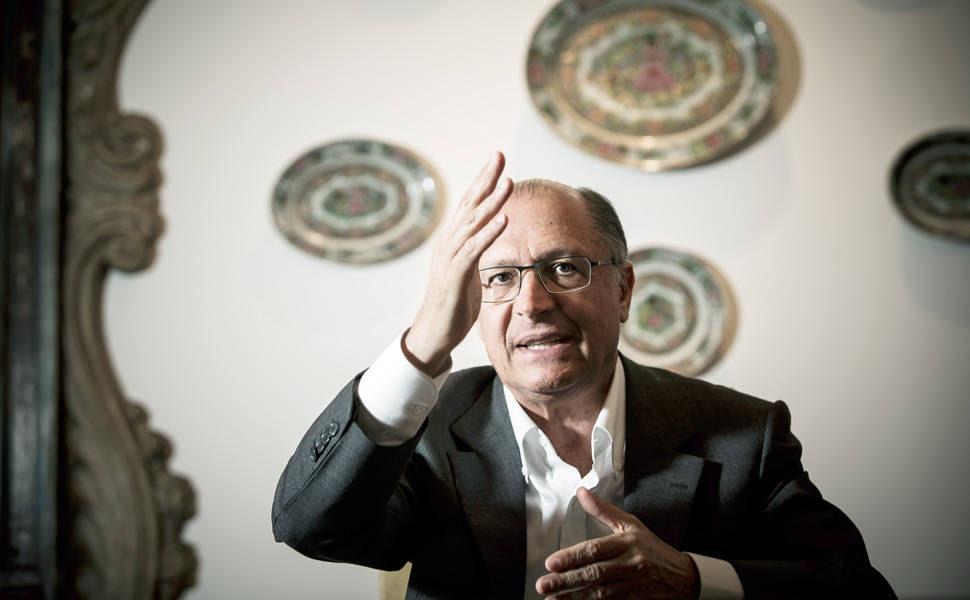 O governador de São Paulo, Geraldo Alckmin, do PSDB