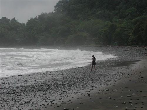 Beach near Villa Nicolas, Costa Rica