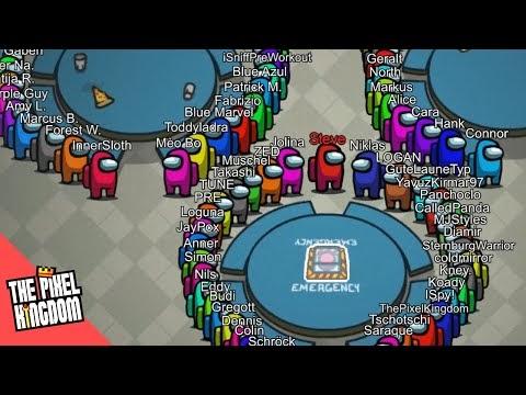 AMONG US, but with 100 PLAYERS - Download AMONG US, but with 100 PLAYERS for FREE - Free Cheats for Games