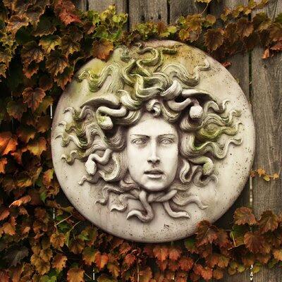 OrlandiStatuary Medusa Wall Plaque Wall Decor   Wayfair