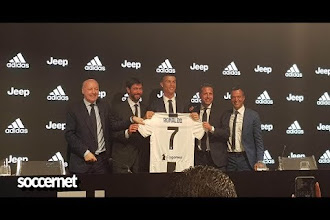 Ronaldo unveiled at Juventus
