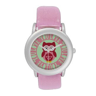 Owl Love You Wrist Watch