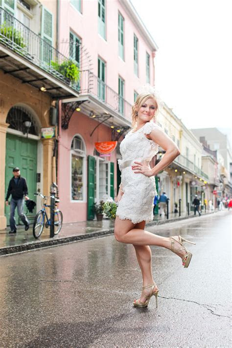 New Orleans French Quarter Street Wedding of Nikki and Rob