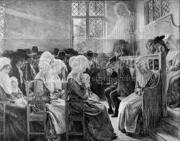 colonial Quaker women