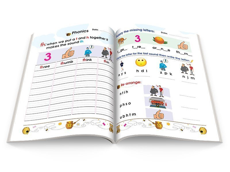 learn english children book level2 words2