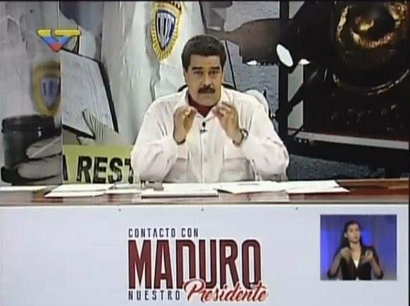 Nicolás Maduro |Foto: captura de video