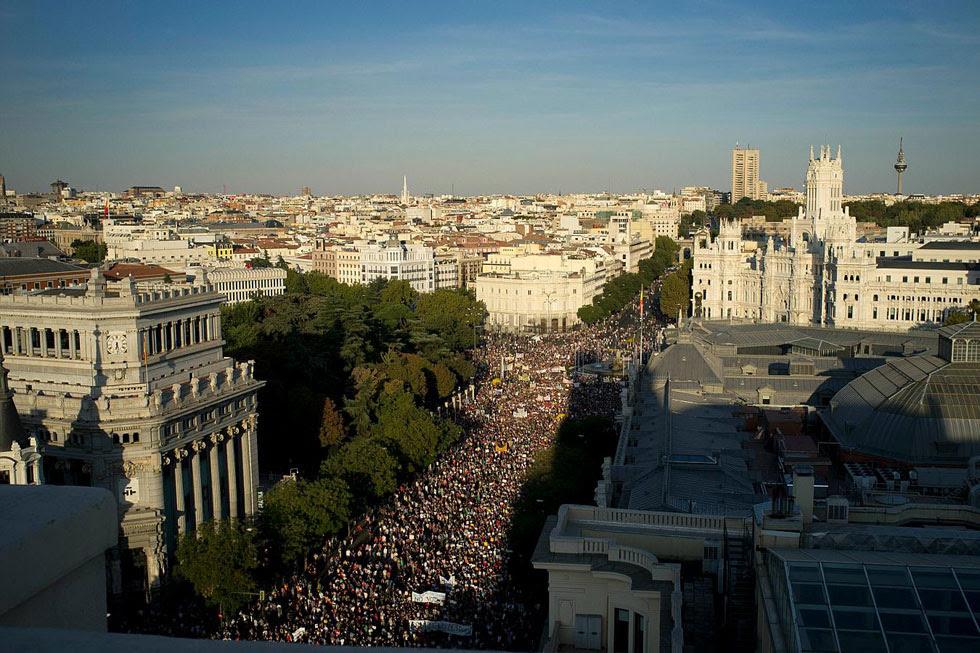 Occupy Madrid, Spain