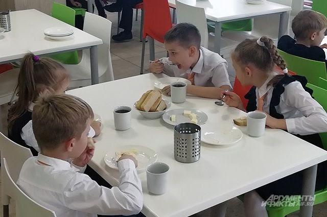 Илья Середюк проверил качество питания в школьных столовых