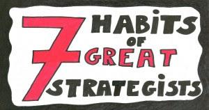 strategist - 7 habits of a great strategist by Jeroen De Flander