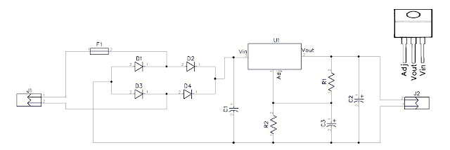 How to Make 10V DC Power Supply (PCB included)
