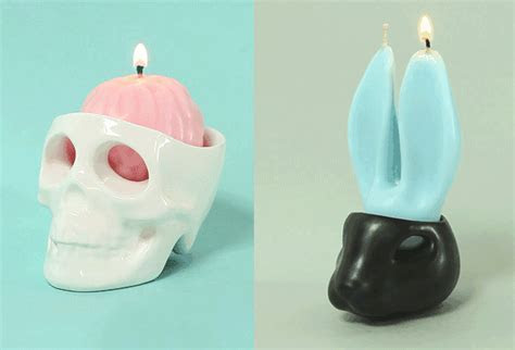 The Jacks: Creative Crying Candle and Candle Holder