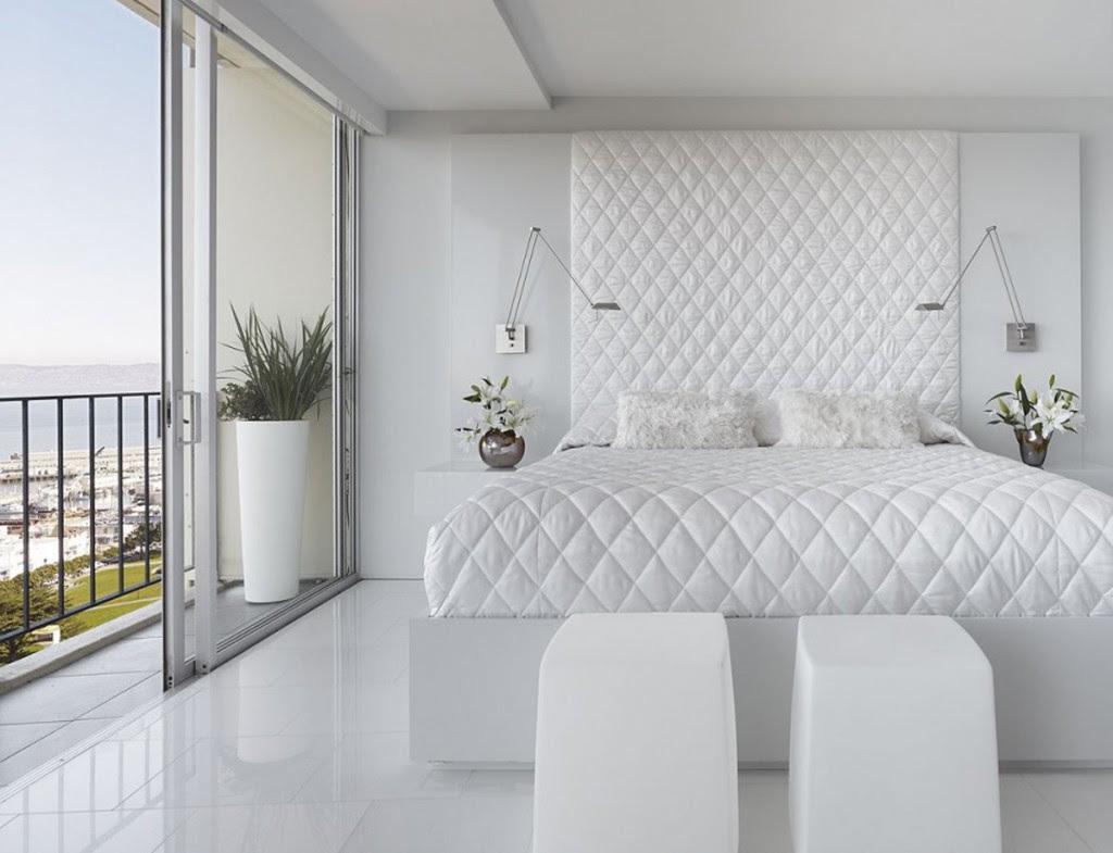 Dream White Bedroom Decorating Ideas - Decoholic