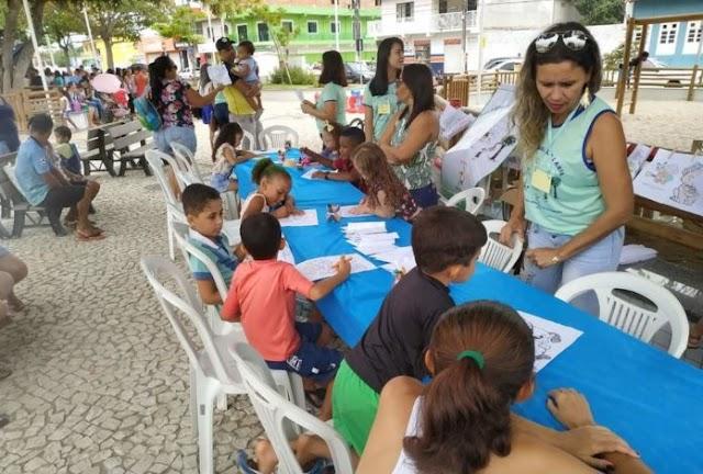 Santa Teresinha: Projeto diversão e Arte em comemoração ao dia das crianças