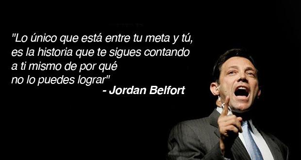 éxito 10 Frases De Jordan Belfort El Lobo De Wall Street El124