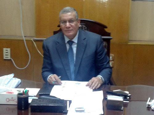 المستشار جمال عبد الرحمن رئيس لجنة الانتخابات باسيوط